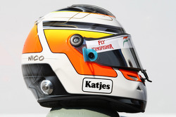 Nico Hulkenberg, Force India F1, Test Driver  helmet