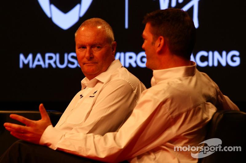 John Booth, Marussia Virgin Racing Sporting Director