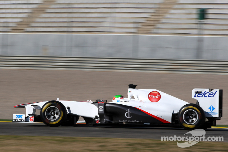 Sergio Perez, Sauber F1 Team, C30, 2011