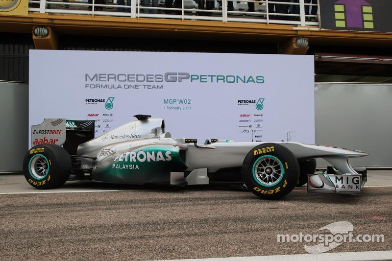 2011: Mercedes W02