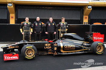 The Lotus Renault GP team - Nick Heidfeld replaces Robert Kubica