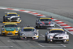 #76 Need for Speed Schubert BMW Z4 GT3: Augusto Farfus, Edward Sandström, Tom Milner, Claudia Hürtgen takes the checkered flag