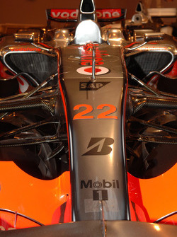 Lewis Hamiltons winning 2008 McLaren