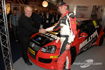 Shaun Hollamby and AmD Miltek Boss after the Unveil