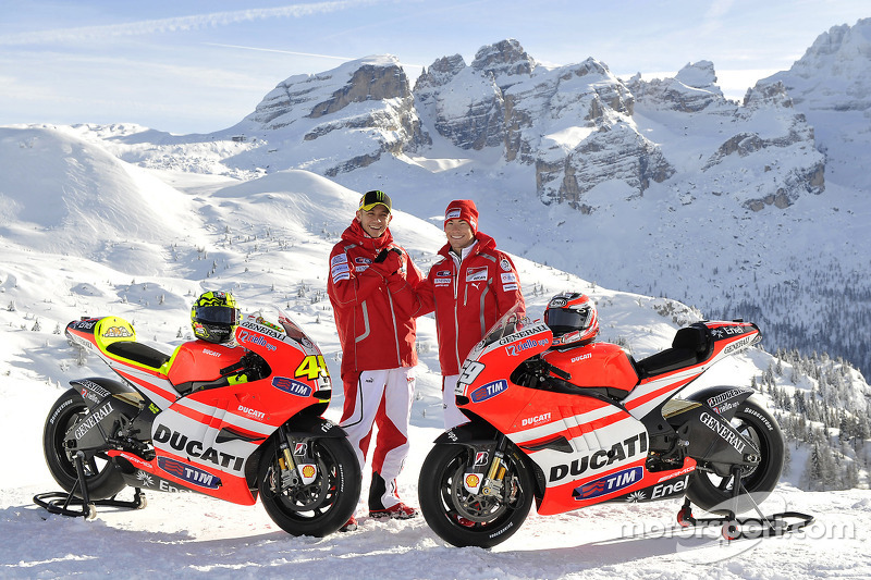 Valentino Rossi dan Nicky Hayden