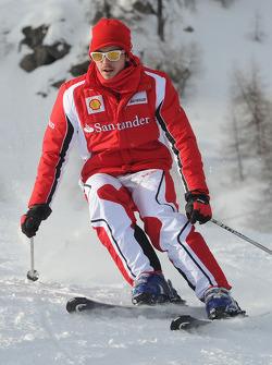 Jules Bianchi, pilote d'essais Scuderia Ferrari