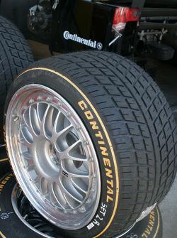 Un pneu Continental
