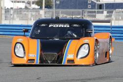 #77 Doran Racing Ford-Dallara: Matt Bell, Brian Frisselle, Ross Kaiser, Henri Richard