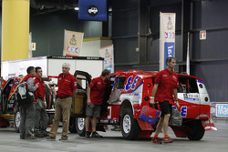 Team Dessoude vehicles at scrutineering
