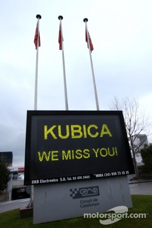 Kubica will leave hospital soon
