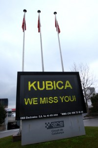 Message For Robert Kubica, Lotus Renault GP