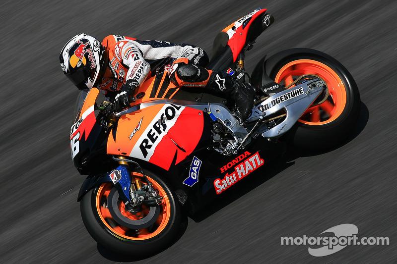 2011, MotoGP: 4º no campeonato, 219 pontos