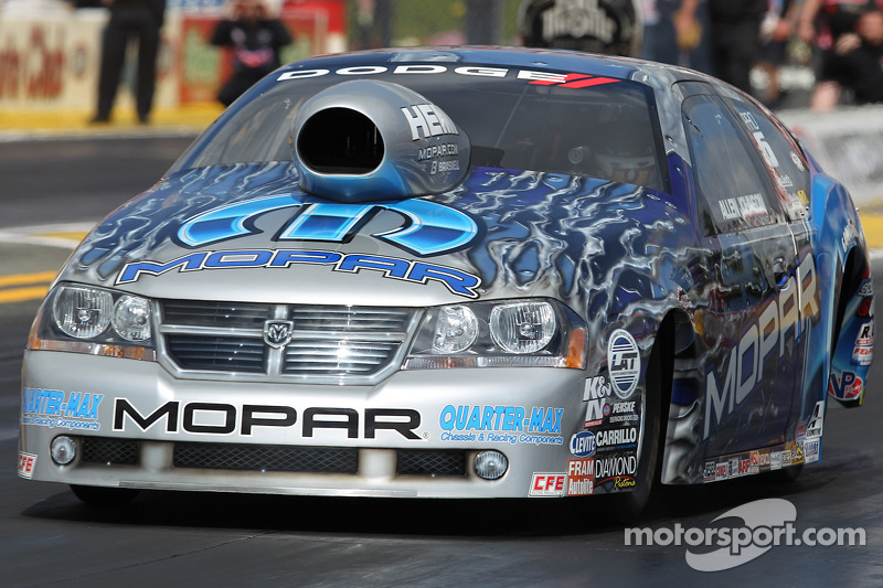 Allen Johnson in his new Team Mopar / J&J Racing Dodge Advenger