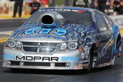 Allen Johnson in his new Team Mopar / J&J Racing Dodge Advenger