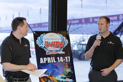 Christian Byrd and Scott Cooper from ZMax Dragwar announce