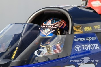 Antron Brown, Matco Tools Top Fuel Dragster