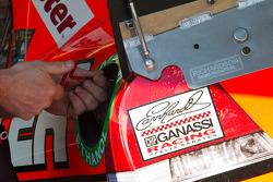 Earnhardt Ganassi Racing Chevrolet garage area