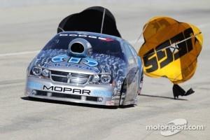 Allen Johnson in his Team Mopar Dodge Avenger