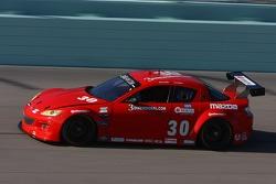 #30 Racers Edge Motorsports Mazda RX-8: Jan Heylen, Ross Smith
