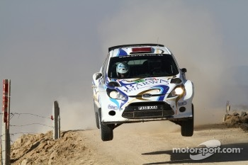 Nasser Al-Attiya and Giovanni Bernacchini, Ford Fiesta S2000