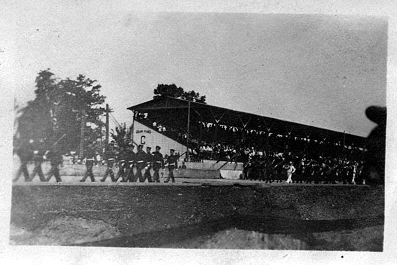 1921 Indy 500 Pre Race Band on Parade