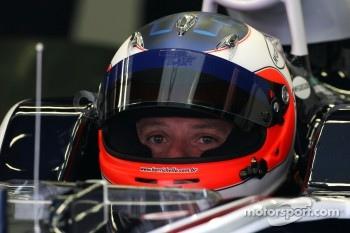 Williams driver Rubens Barrichello