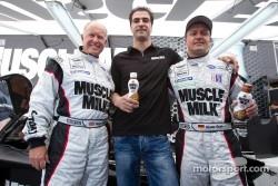 Greg Pickett, Lucas Luhr and Klaus Graf