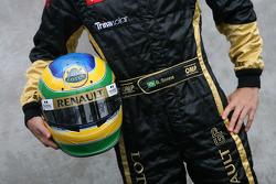 Bruno Senna, test driver, Lotus Renault GP