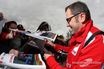 Domenicali is Italian, and Italians are very passionate when it comes to F1