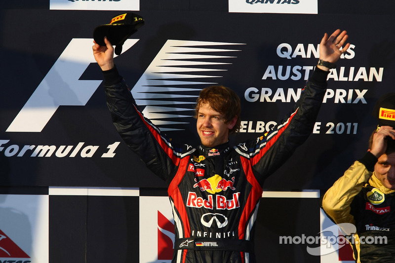 2011 - Grand Prix von Australien: Sebastian Vettel, Red Bull Racing RB7