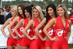 Podium: lovely ladies