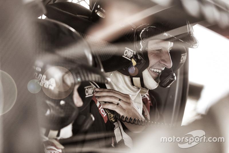 Юхо Хяннінен, тести Toyota Yaris WRC 2017