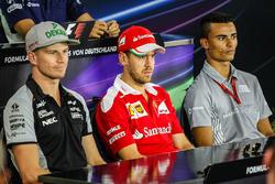 Ніко Хюлькенберг, Manor Racing під час прес-конференції FIA