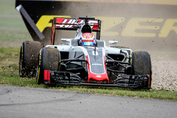 Romain Grosjean, Haas F1 Team VF-16 va largo
