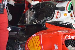 Ferrari SF16-H, dettaglio posteriore