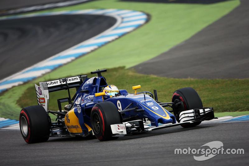 22: Маркус Ерікссон, Sauber C35