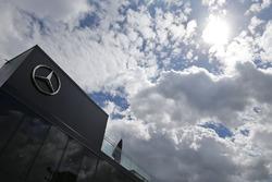 Mercedes AMG F1 motorhome