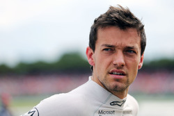 Jolyon Palmer, Renault Sport F1 Team on the grid