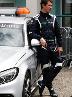 Alan Van Der Merwe, FIA Medical-Car-Fahrer