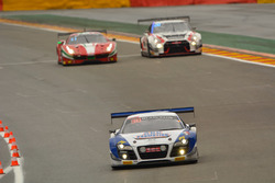 #27 Sainteloc Racing, Audi R8 LMS ultra: Michael Blanchemain, Jean-Paul Buffin, Valentin Hasse-Clot, Gilles Lallement