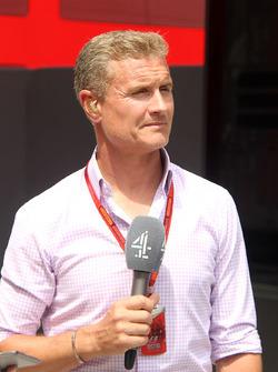 Дэвид Култард, комментатор Channel 4 F1