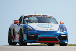 #46 Team TGM Porsche Cayman GT4: Ted Giovanis, Guy Cosmo