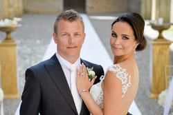 Kimi Raikkonen and Minttu Virtanen marriage photo