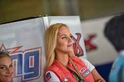 Grid girl Pramac Racing