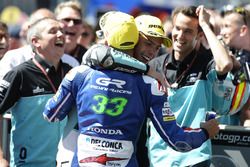 Joan Mir, Leopard Racing, KTM and Enea Bastianini, Gresini Racing Moto3, Honda