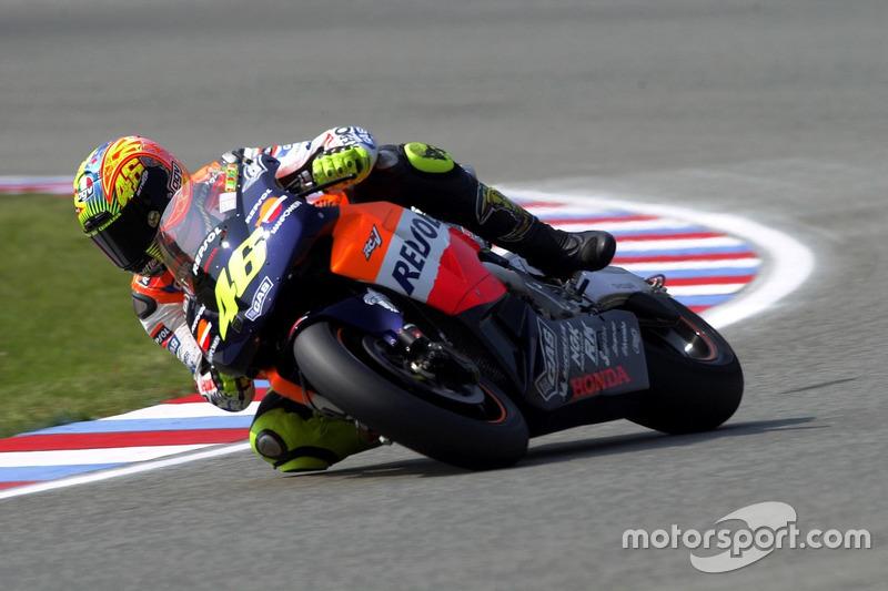 2002. Valentino Rossi