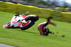 Sturz: Daijiro Kato, Honda Gresini