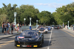 #66 Black Pearl Racing, Ferrari 458 Italia GT3: Steve Parrow, Christian Hook