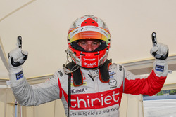 Polesitter Mathias Beche, Thiriet by TDS Racing