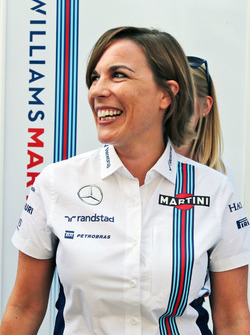 Claire Williams, directrice adjointe de Williams